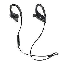 Panasonic Wings Bluetooth Sports Headphones in Ear Waterproof - Black