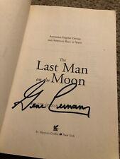 Last Man On The Moon Signed By Gene Cernan