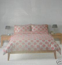 John Lewis Buttons Red Single Duvet cover 100% Cotton 135cm x 200cm