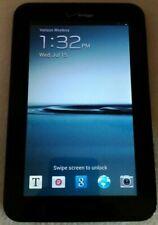 Samsung Galaxy Tab 2 7.0 8GB 4G/Verizon SCH-I705. Factory reset. WIFI ready!!