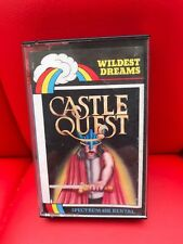 Sinclair ZX Spectrum 48K - CASTLE QUEST - Wildest Dreams - EXTREMELY RARE