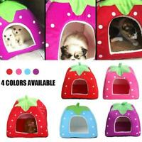 Guinea Pig Small Animal Bed Fleece Snuggle Pouch Cuddle Sack Bag Cup R9V0