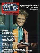 Doctor Who Magazine Issue 112 DWAS UNIT Frank Bellamy