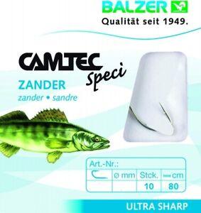 Balzer Camtec Speci Zander Zanderhaken Gr. 4 80cm 178190004 TOP/NEU