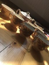 English Heritage collectors item teapot and cups and milk pot