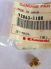 KAWASAKI JET,MAIN KZ1000,F6,F8,KX80,KDX80,KL250 92063-1100 NOS!