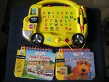 LeapFrog My First LeapPad ~ Alphabet Bus ~ with 2 Books and 1 Cartridge