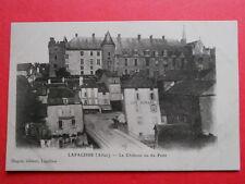 LAPALISSE  :  Le Café Morand  -  Le Château vu du Pont.