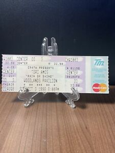 TORI AMOS Concert Ticket Unused Vintage October 3 1998 Woodland Pavilion