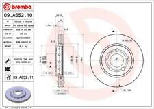 1X BRAKE DISC BREMBO 09.A652.11