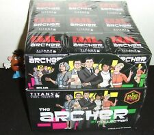 """ARCHER TV SHOW COLLECTION TITANS 18ct  BLIND BOX 3"""" FIGURE SEALED DISPLAY CASE"""
