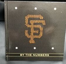 San Francisco SF Giants By The Numbers Book, BRAND NEW