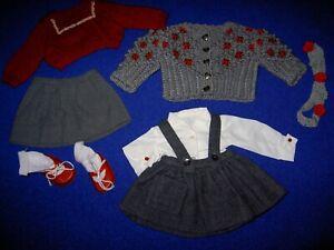 Wunderschönes Konvolut alte Puppenkleidung für Kruse- oder Schildkrötpuppen 8T.
