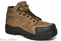 Samson XL 7204 S3 SRC Brown Composite Toe Cap Waterproof Metal Free Safety Boots