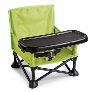 Pop Sit Portable Booster Summer Infant Detachable Lightweight Chair Baby Travel
