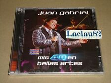 Juan Gabriel Mis 40 En Bellas Artes 2014 Fonovisa Cd Doble Mexico