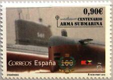 SPAIN SPANIEN 2014 4959 100th Ann Submarine spanish Navy U-Boot Warship MNH