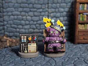 Aurora Model Teddy Bear Frankenstein Unpainted Miniatures Metal Figure CT25