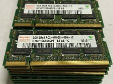 Hynix 2GB 2Rx8 PC2-6400S-666-12 HYMP125S64CP8-S6 AB-C Lot of 34