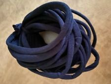 (75 pc) Nylon Hairband Elastic Head Band Black Accessories