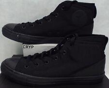 ec0d7f467e4fbe Mens 10 Converse All Star CTAS SYDE Street Mid Triple Black Shoes 155489C   75