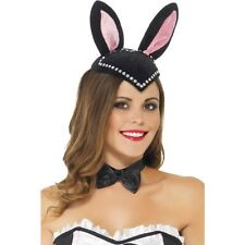 Mujeres Burlesque Conejito cráneo casquillo del sombrero conejo Hen Noche Vestido de fantasía tema evento