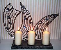 Kerzenständer Kerzenleuchter Metall Leuchter Edel Design Landhaus Shabby Chic XL