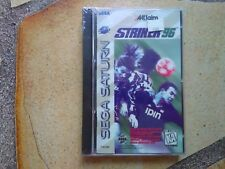 ** Striker 96 #Brand New# (Saturn 1996) jeu game retrogaming retro old Sega foot