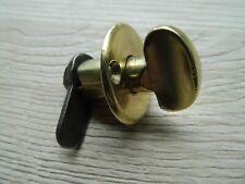 Ancien petit fermoir de porte en laiton,serrure targette verrou bouton