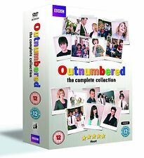 OUTNUMBERED COMPLETE SERIES 1 2 3 4 5 DVD BOX SET All Episodes Original UK Rel
