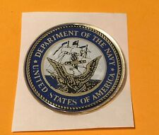 UNITED STATES NAVY USN 2 INCH EPOXY DOME CAR DECAL STICKER EMBLEM FREE SHIPPING