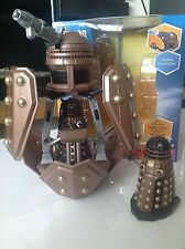 """Doctor Who Dalek Patrol Ship and Two 3.75"""" Daleks Figures NEW SEALED"""