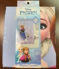 Disney Frozen Fabric Shower Curtain Elsa Anna Olaf 72 x 72 NWT