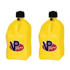 Vp Racing 5 Gallon Motorsport Racing Liquid Utility Jug Can Yellow 2 Pack
