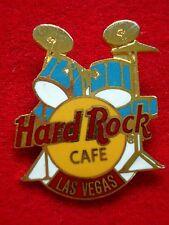 HRC Hard Rock Cafe Las Vegas Blue Drum Set Yellow Logo 3LT