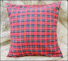 Royal Stewart Tartan Fabric Cushion cover