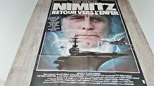 NIMITZ RETOUR VERS L' ENFER  !  kirk douglas  affiche cinema  1979