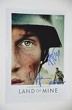 LAND of mine-Hofmann, Basman, bökelmann SIGNED FOTO AUTOGRAFO/Autograph