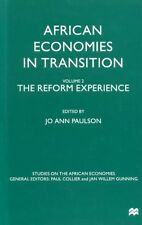 Paulson, Jo Ann AFRICAN ECONOMIES IN TRANSITION VOLUME 2 THE REFORM EXPERIENCE H