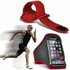 Red ✔ qualità Sports Fascia Da Braccio Corsa Palestra Allenamento Cintura Cinghia Telefono Case Cover