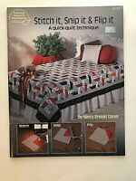 Quilt Pattern Quilt in a Day New Amish Quilts Jelly Roll Friendly 1233 NIP B553