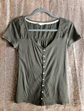 Hollister top small Color Brown