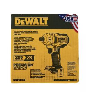 DeWALT DCF894B 20V MAX XR 1/2-Inch Detent Pin Anvil Impact Wrench - Bare Tool