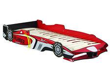 Kinderbett 90x200 GTA Jugendbett Spielbett Bett Auto F1 Rennwagen Lattenrost
