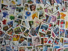 CANADA 95 different modern coils or ex-self adhesive bklt,stamps mixed condition