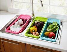 Pelton Washing Fruit Vegetable Funnel Kitchen Tool Basket Drain Organizer Qty 1
