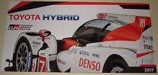 Le Mans - FIA WEC 2017 - Silverstone - Toyota Hybrid Racing Gazoo TS050 LMP1 #7