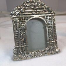 """Shelf Photo Frame Desktop Garden Gate 7""""x 6"""" With 4""""x 2.5"""" Viewable Glass Window"""
