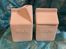 Vtg Creamer and Sugar Set