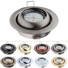 Einbaustrahler GU10 / GU5,3 MR16 Rund Schwenkbar Einbauleuchte Spot LED KOH17